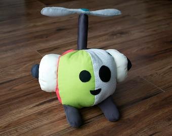 Tropical Trig - Big Plush Robot