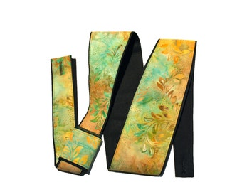 Vegan Guitar Strap- Lagoon-LIMITED pattern-water-lagoon-sea-estuary-swimming-hawaii-Canvas guitar strap-cool gift for boyfriend / girlfriend