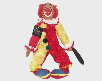 1990s doll / 90s tv show / Homey the Clown Stuffed Doll