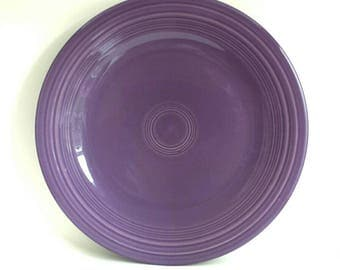 Vintage Homer Laughlin Fiestaware Lilac Dinner Plates 1993 Discontinued