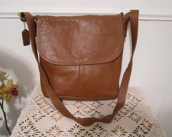 Coach Bag, Messenger Bag, Coach Vintage Bag, Leather Shoulder Bag, Coach Leather Saddle Bag, Cross Body Bag