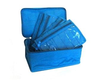 Yazzii 4-Pocket Organizer - AQUA