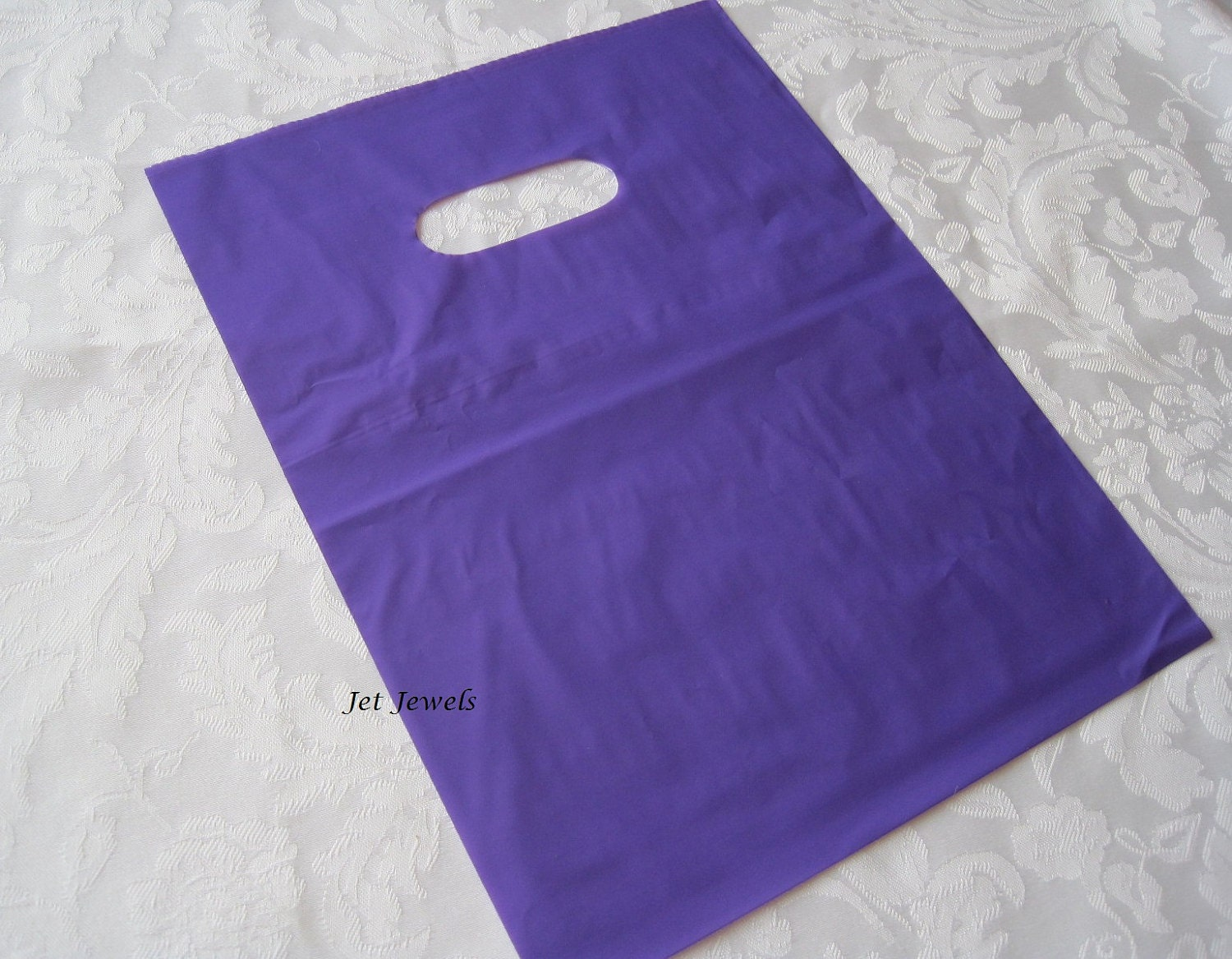 100 Plastic Bags, Purple Bags, Gift Bags, Party Favor Bags, Candy ...