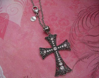 Faith Cross Religious Car Rear View Mirror Charms