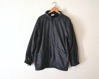 1990's Sherpa Lined Nylon Windbreaker Jacket