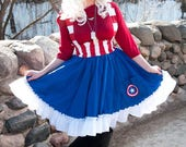 Cap Dress Custom Cosplay