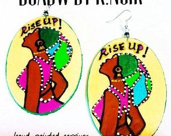 Rise Up Earrings