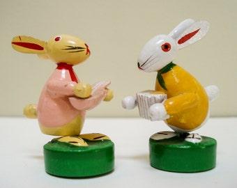 Sweet rabbit pair