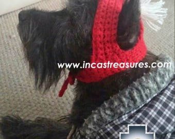 100% Alpaca Hat for dogs spartan dog FREE SHIPPING