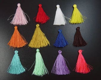Polyester Tassel Pendant Color CHOICE 37-43mm (1011tas43m1)