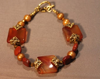 Karma Carnelian Bracelet