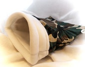 Green Camo Little Critter Plush Snuggle Sleep Sack Bed for Your Favorite Little Pet