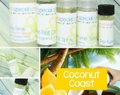 Coconut Coast Perfume, Perfume Spray, Body Spray, Perfume Roll On, Perfume Sample Oil, Dry Oil Spray, You Pick the Product You Want