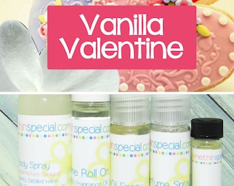 Vanilla Valentine Perfume, Perfume Spray, Body Spray, Perfume Roll On, Perfume Sample, Dry Oil Spray, You Choose the Product
