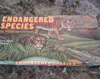 Endangered Species Boardgame