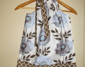 Dress Taupe Gray SALE 10% off code is tiljan  floral dress available in size 3,6,9,12,18, months ,2t,3t,4t,5t,6,7,8,10,12