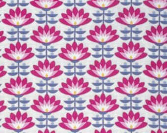 Deco Bloom in Fuchsia - Atrium - Joel Dewberry - 1 YARD Fabric