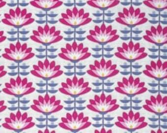 Deco Bloom in Fuchsia - Atrium - Joel Dewberry - 1 YARD Fabric