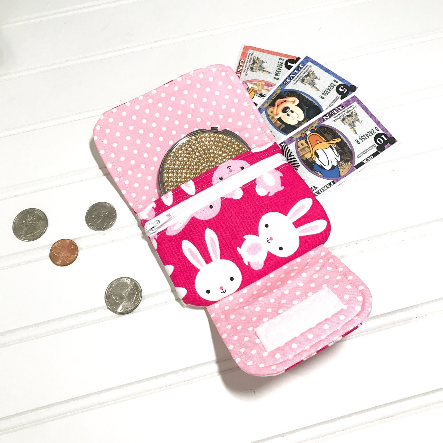 Bunny wallet childrens wallet key chain wallet easter gift id bunny wallet childrens wallet key chain wallet easter gift id holder negle Choice Image