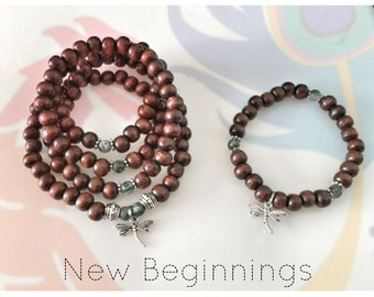 DIY - Make Your Own Mala Beads Kit - NEW BEGINNINGS