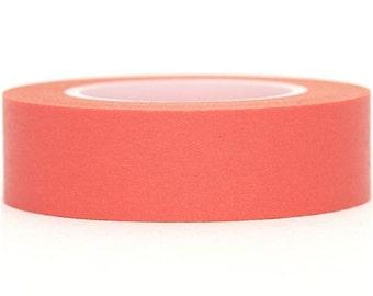 164601 salmon pink Washi Masking Tape deco tape single-colored
