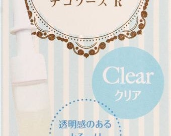 166088 clear decoration sauce for clay sweets from Japan
