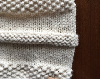 AGATE BAY // fishman handknit cowl, circle scarf, neck warmer