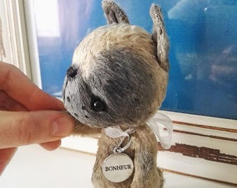 Artist bear mouse available immediately by Sylvie Touzard