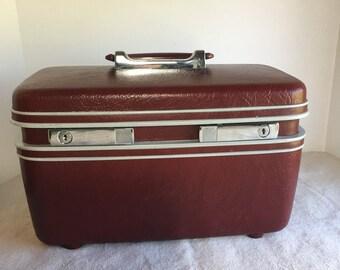 Vintage Samsonite Train Case, Carryon, Storage