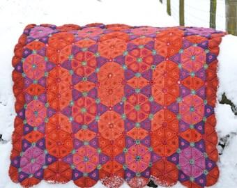 Florence Crochet Blanket - PDF Crochet Blanket Pattern