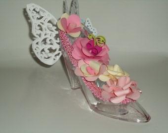 Cake Topper, Wedding Cake Topper, Birthday Cake Topper, Shoe Cake Topper