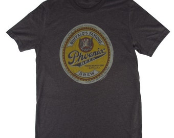 Phoenix Vintage Beer Label T-Shirt