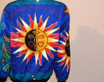Vintage Jacket 80's Lunar Brights