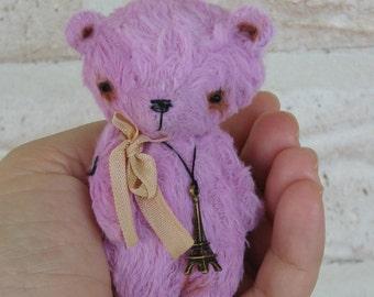 Paris the Bear by Woollybuttbears - ready to ship