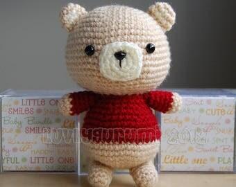 Bear Gurumi Crochet Pattern