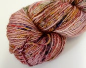 SALE - Squash Garden - Speckled - Hand Dyed Merino and Nylon Sock Yarn - Entree