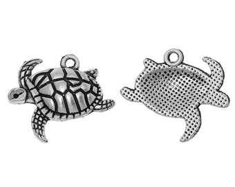 BULK - Sea Turtle Charm - Set of 40 - #T134B