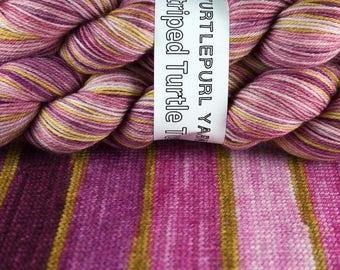 City Girl - Hand-dyed Self-striping sock yarn