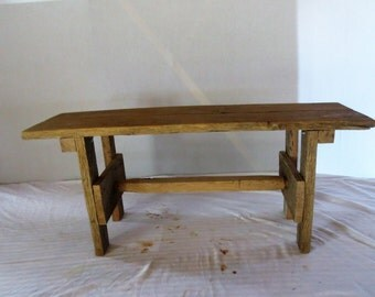 Reclaimed Barn Wood Bench, Barn Wood, Recycled Wood Bench, Recycled Wood