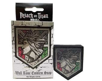 Attack on Titan Soap Wall Rose Officially Licensed