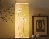 SECONDS SALE! Dandelion Clock table lamp half price