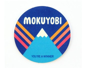 Mokuyobi Mountain Sticker
