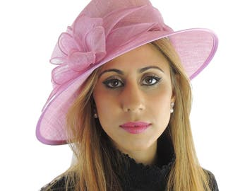 Lilac Purple Hat for Kentucky Derby, Weddings Other Colours Too