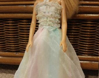 1980 Happy Birthday Barbie dress