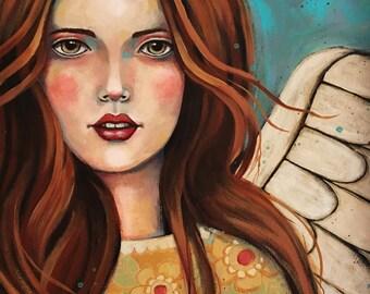 Wall art | Wall Decor | Artwork | Original Art | Painting | Teresa Kogut | Glory Be
