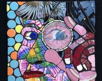 Evolution - Original Mosaic Portrait