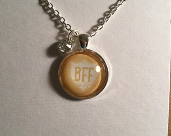 Best friends forever (BFF)  necklace