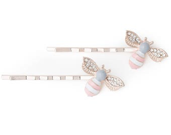 Spring & Summer Bumblebee Hair Pin Accessory