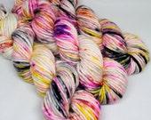 Big Rad Bulky - Hand Dyed Speckled Yarn - SW Merino/Nylon - 75 Yards - Buzz