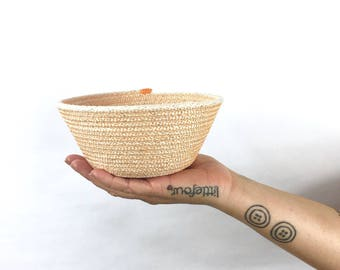 littlefour handmade small rope bowl